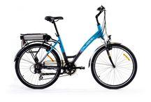 E-bikes - Rowery elektryczne / Rower elektryczny na pierwszy rzut oka praktycznie nie różni się od tradycyjnego roweru. Bliższe przyjrzenie się e-bikowi pozwoli zauważyć trzy elementy różniące go od tradycyjnego roweru. Należą do nich: silnik, bateria i kontroler. Dzięki współpracy tych trzech elementów rower elektryczny porusza się bezszelestnie i bez zbędnego wysiłku rowerzysty.