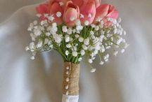 Tulipanes Wedding Bouquets