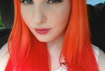 Inspiration: Orange hair♥