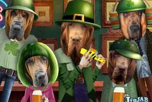 bloodhound soul / bloodhound memes, funny cards, portraits