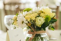 Bouquets and Centerpieces / Lovely bridal bouquets and table centerpieces from weddings we've photographed.