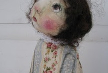 artdolls / by Vintage Pixie Studio