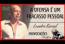 Leandro Karnal - brasileiro / Historiador / Professor