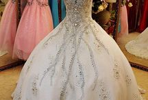 Rhinestone wedding dresses