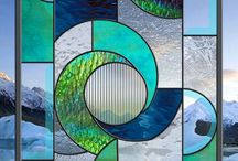 Vitrales y mosaicos