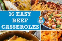 Beef Recipes / Beef is the perfect ingredient for an easy dinner! Try these easy dinner recipes.