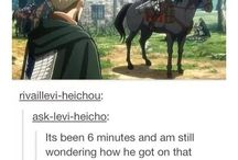 Attack on Titan!!! / ITS JEAN NOT JAWN THATS SHERLOCK MORGAN (15/9/17) Much death.Such Titan. Very Levi.