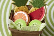 Пряники фрукты