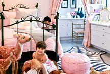 Girls Bedroom Ideas / by Agata Romanczuk