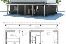 plan de maison étage