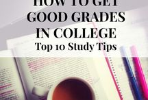 Study Tips / Good habits and tips for students in college.