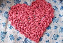 Croxhet heart