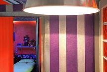 Airbnb Location for FuoriSalone del Mobile near Lambrate Ventura / A colorful Airbnb location in Milan's Lambrate that can be rented at http://www.airbnb.it/rooms/4605149 - very close to Fuorisalone's Lambrate Ventura district. with private parking space right in front of the loft. host 4 people max.
