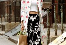 Mixed prints outfits / How to mix and match prints. / by Match Clothes Colors