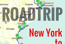 Roadtrips Routes in the USA