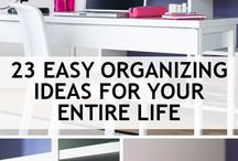 Storage organising