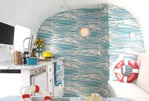 Airstreams and Campers