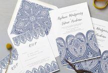Indian Wedding Stationery