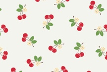 Fabrics / by Fee @ kinky-cherries.com