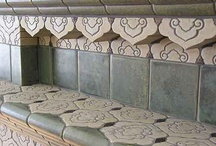 Installations / A selection of custom handmade tile installations by Totten Tileworks.