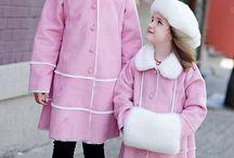 Kids fur shearling