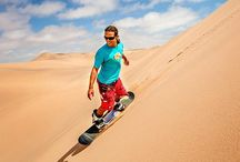 SANDBOARDING IN CAPE TOWN / One of the biggest sand dunes in Western Cape, which offering fine white sands to experience the thrill of surfing. For $28.91 ! Grab this opportunity. http://capetownattractions.com/