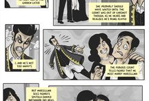 Opera Stories...as Comics! / Librettos from the most famous operas, told as comics