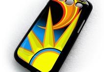 Valentino Rossi VR 46 Yamaha Sticker boom Samsung Galaxy S3 Case