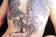 Angel tattoos and graphics