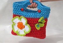 Crochet or knitted bags / by Melissa Wise
