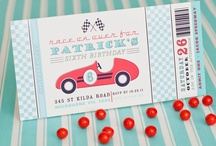 Race car party / by Kacie Whigham