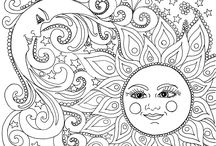 Coloring Pages / There is something Zen about coloring...
