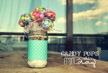 DIY EVENT   Baby showers and Christenings / Invitations and favor box for a cute baby shower OR a baptism OR  a party