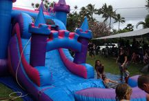 A perfect Princess party! /  Reserve this Ali'i Princess 4in1 combo for your little princess' party by visiting us at http://www.hijumprentals.com/alii-princess-castle-combo/. Or call us today at 808-589-9000. We serve the entire island of Oahu, Hawaii. #princessparty #partyideas #hijumprentals