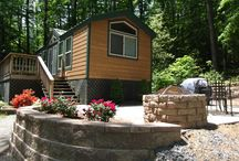Cabins / No camper, no problem. Check out our cabins. / by Fredericksburg KOA Campground