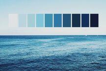 Hues of blue
