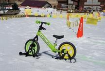 Strider Snow - płozy do rowerka biegowego Strider / http://www.aktywnysmyk.pl/akcesoria-do-rowerkow-strider/1179-plozy-do-rowerka-biegowego-strider.html