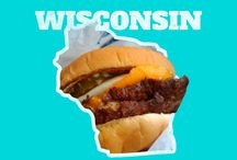 Fast Food Favorites / Food served in the USA. Essen aus den USA. #TheAmericanDream #USA #FastFood #Burger