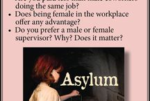Asylum. A Book Club Favorite with Strong Female Leads. / Set in 1899 and 1974 during periods of transition with the rise and fall of manufacturing, changing mores and folkways, and struggles for equal rights, Asylum, a dark suspense saga, prompts discussion of social issues that continue to resonate. #BookClub #MysteryBooks #History
