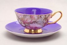 Fussy Tea Things, China Patterns, and Silver, etc. / by Zanna