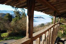Winter in La Casina de Giranes / Excepcionals View. Vistas Increibles desde la casa Rural