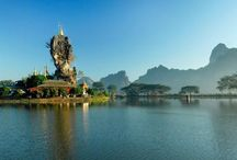 Kyauk Ka Lat Pagoda / Pics of the amazing Kyauk Ka Lat Pagoda, in Myanmar.