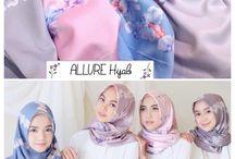 Hijab maxmara lux segiempat
