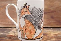 What Does The Fox Say Friday! / Urban Fox Designs by Martha and Hepsie
