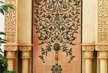 Arabic design / pattern / texture / ornaments