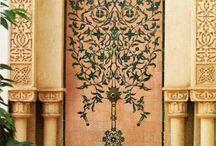 Arabic design / pattern / texture / ornaments
