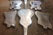 Guitare / Guitare aluminium Meloduende Guitars