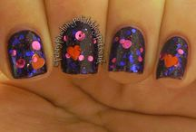 UK Indie Nail Polish / A collection of mani's using UK Indie nail polishes.  Some swatches, some art...
