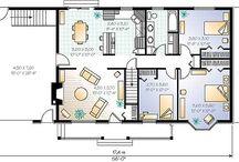 Amueblar nuestra casa 1A (Caserta,Contini,Lanotte) / Nuestro grupo en esta descrición describirá a partir de un plano,la casa de nuestros sueños.