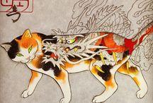 Horitomo / Kazuaki Kitamora Horitomo  Monmon Cats